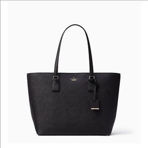 Kate Spade Black Cameron Street Tote Bag